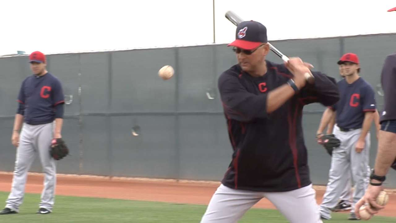 Francona: 'More anxiety' about this year's message to Tribe