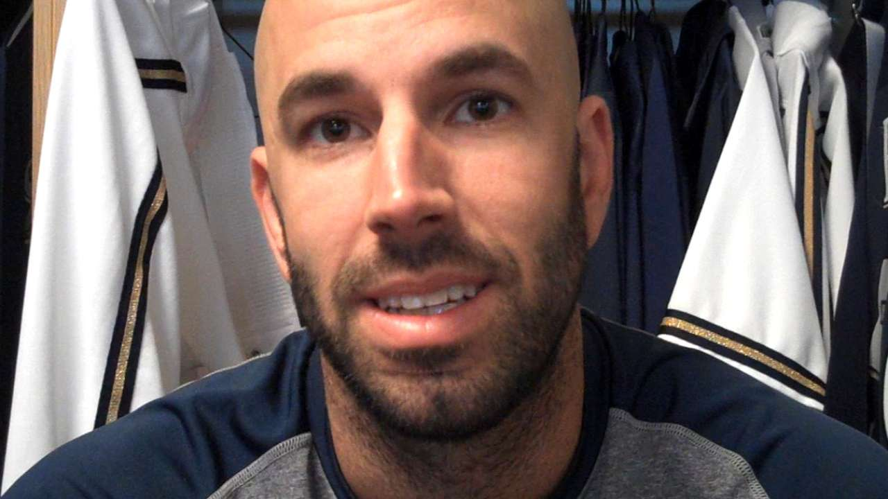 Fiers not letting Stanton beanball affect pitching style