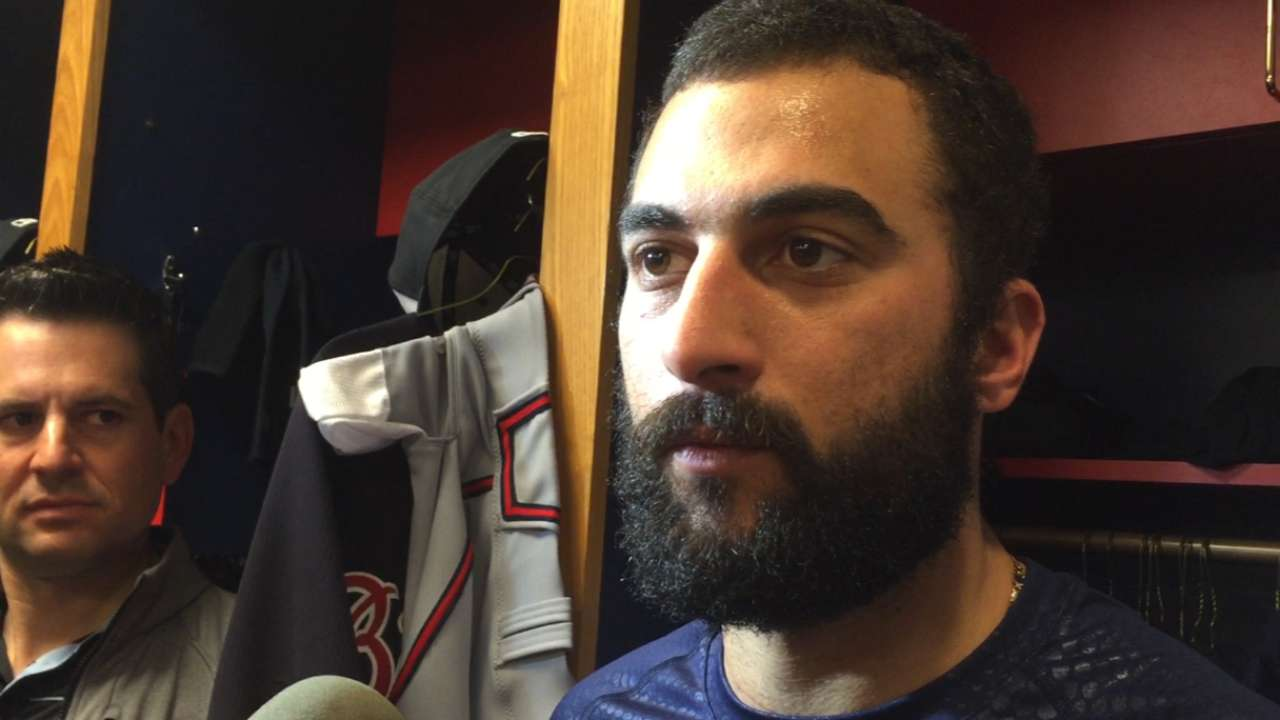 Cleared for action, Markakis targeting Opening Day