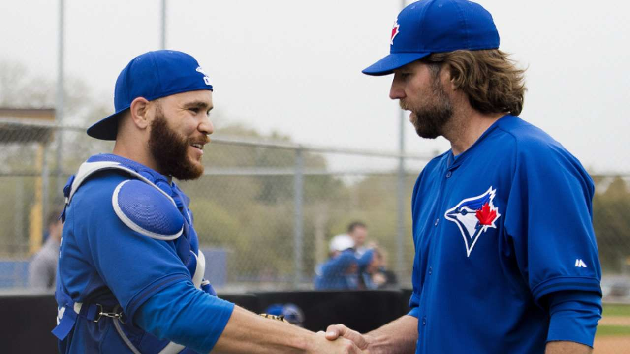 Martin, Dickey have makings of strong partnership