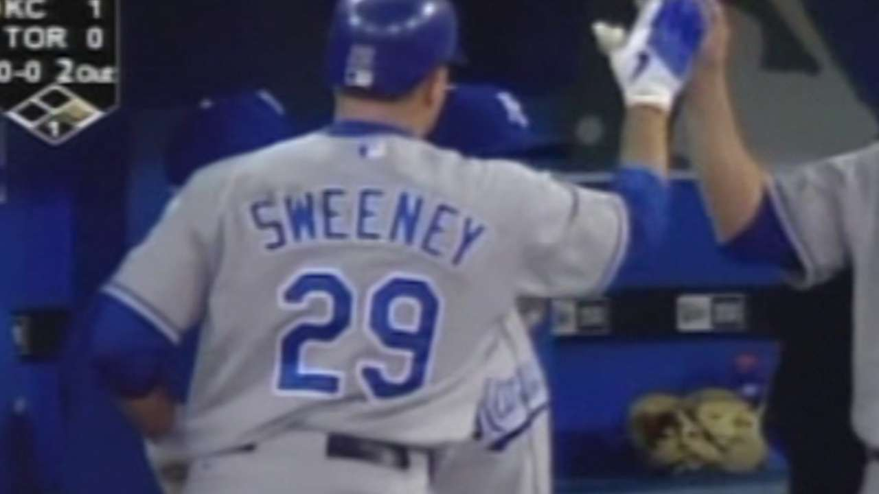 Sweeney collects 800th RBI