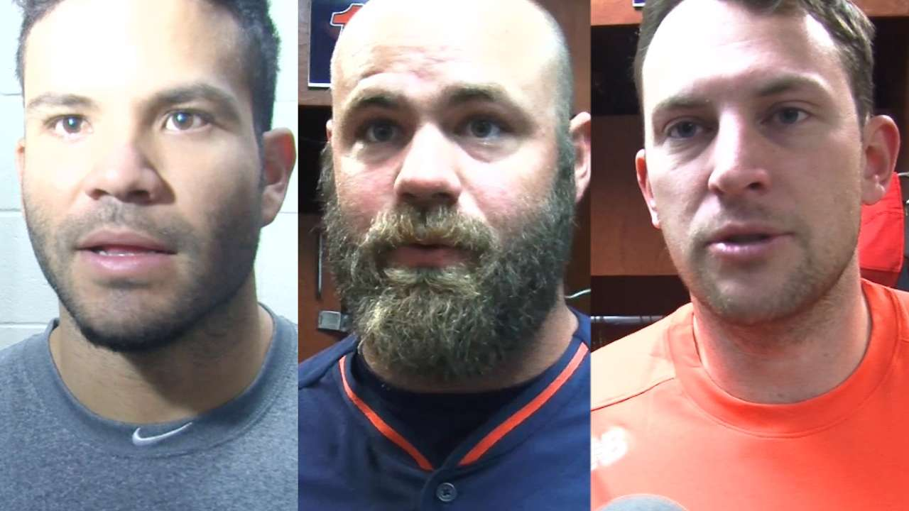 Astros on opening workouts