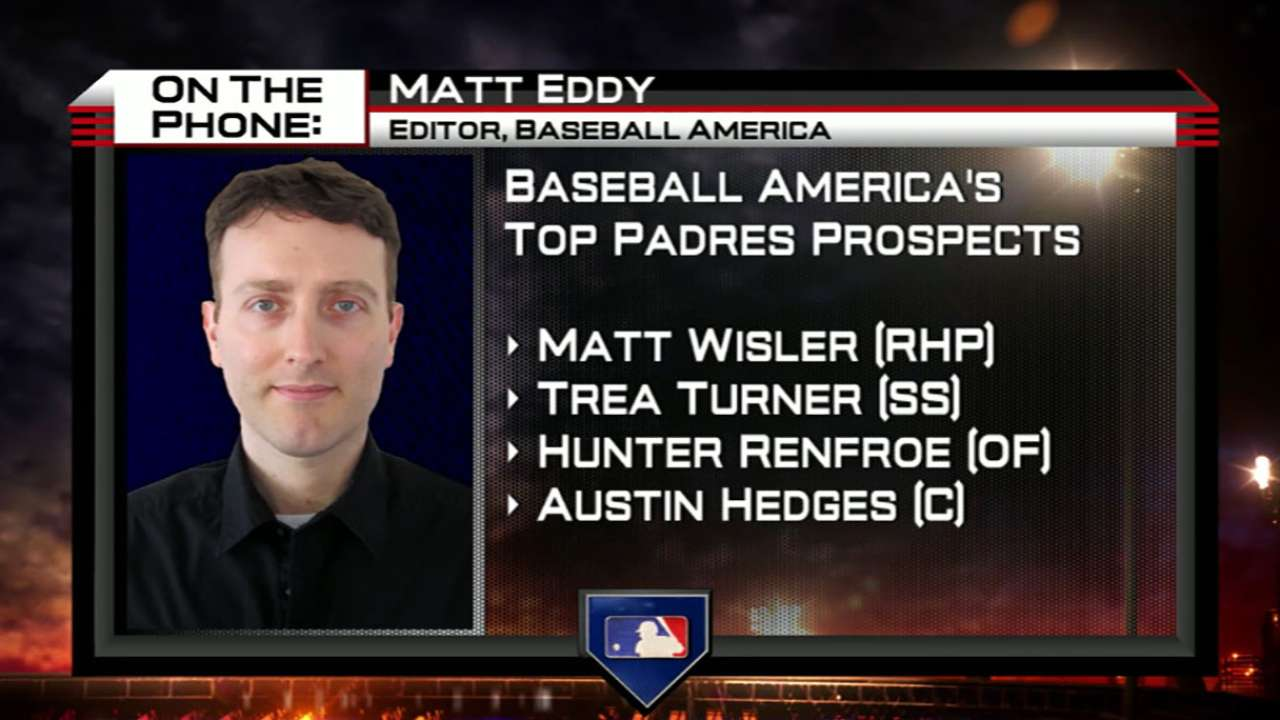 Matt Eddy on Padres' Prospects
