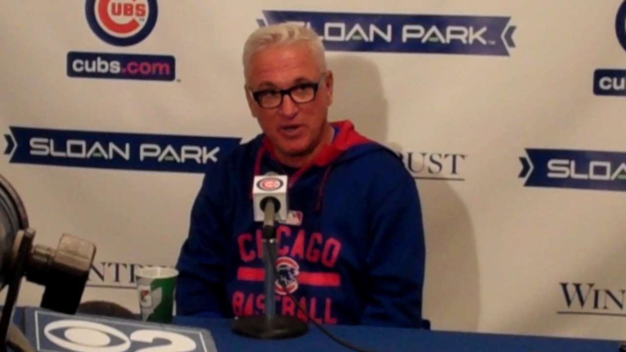 Maddon gets help from The Boss to fire up Cubs camp