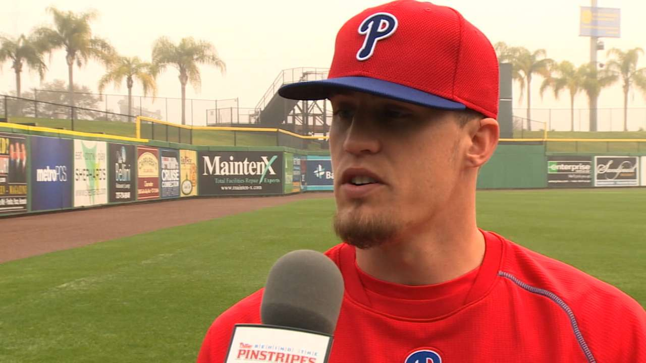 Giles on role in Phillies 'pen
