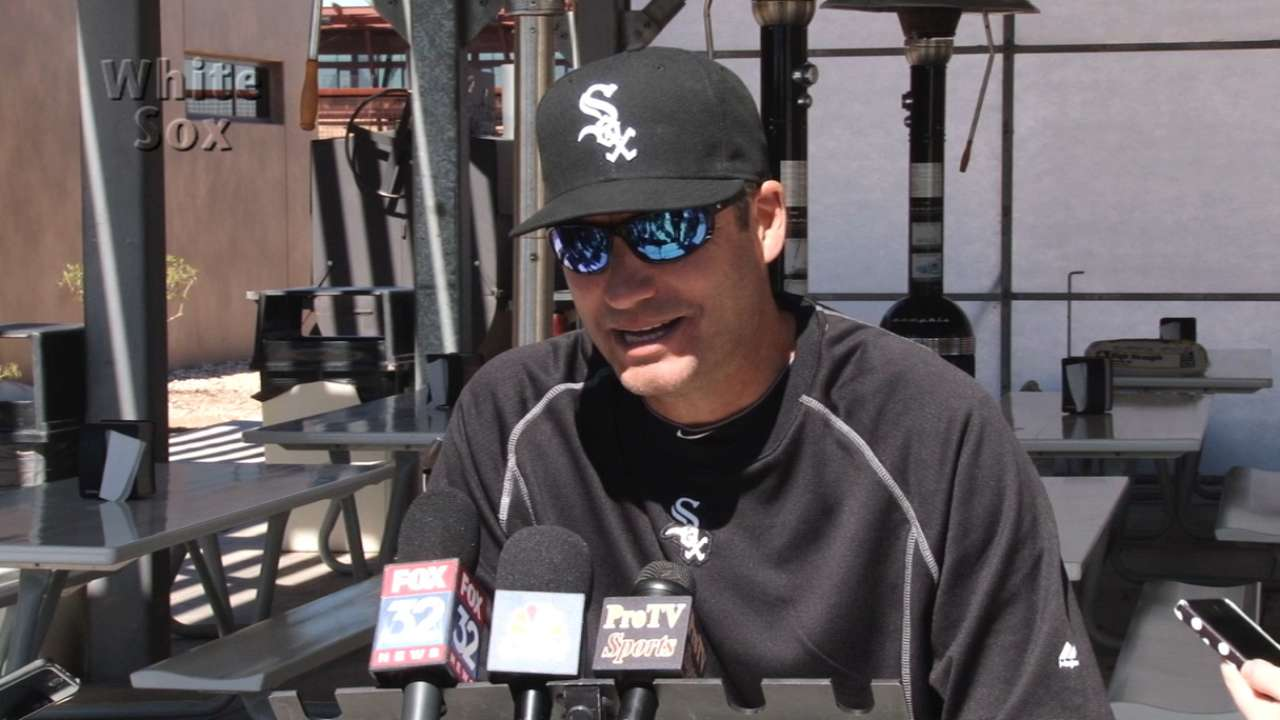 First week of camp in the books for improved White Sox