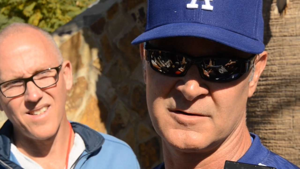 Mattingly ready for some 'open competition' in camp