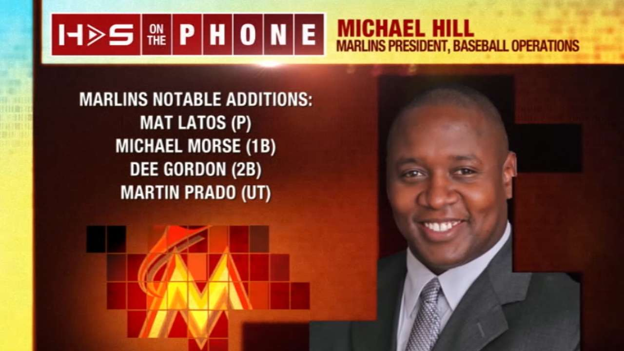 Hot Stove: Mike Hill on Marlins