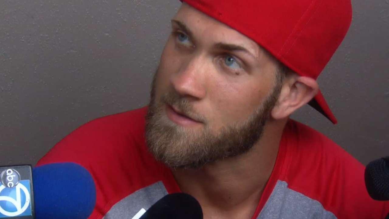 Harper confident in Nats' World Series chances