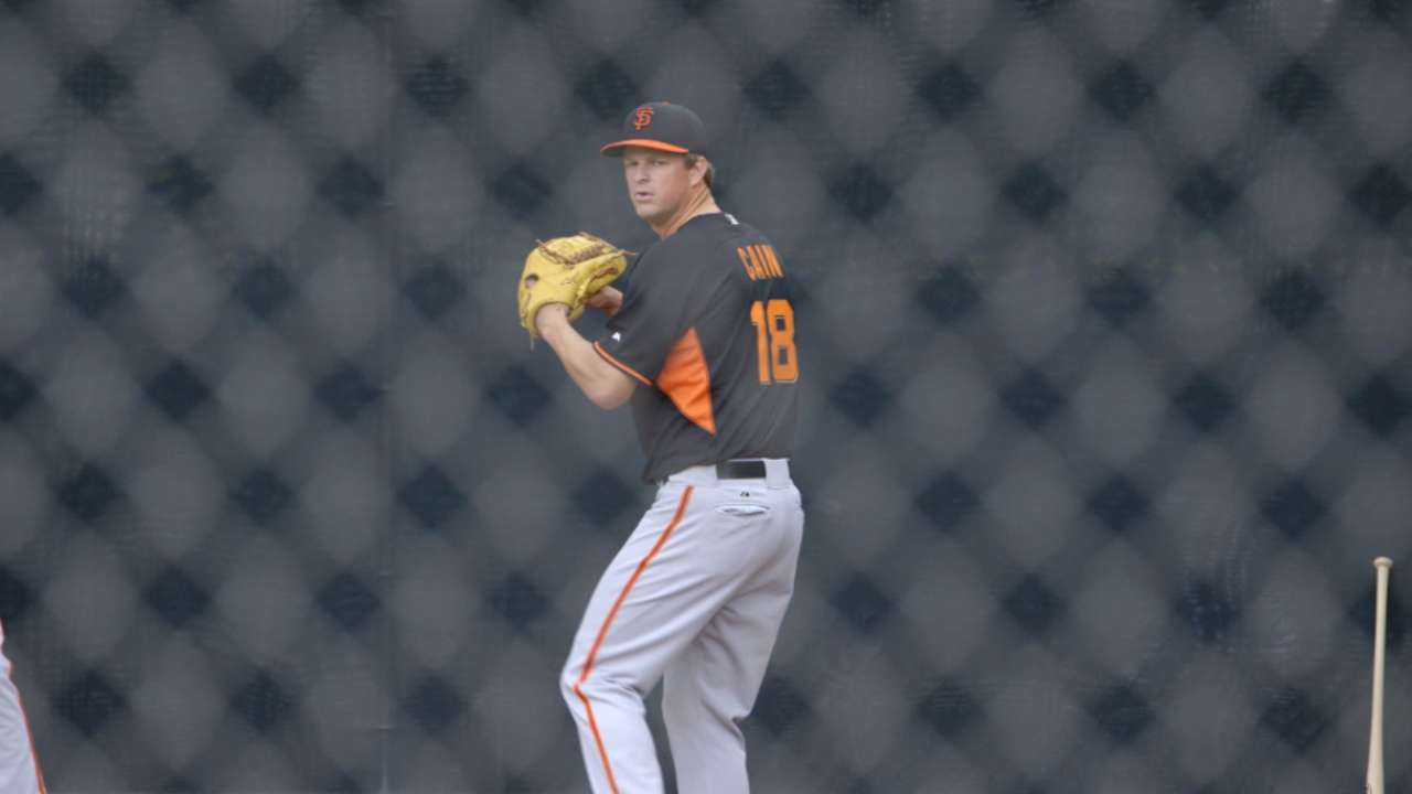 Recovering Cain to wait week before making start