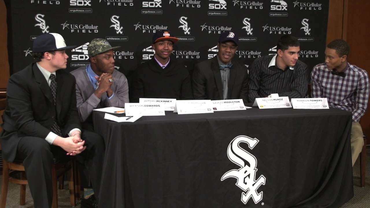 White Sox 2015 ACE signing day