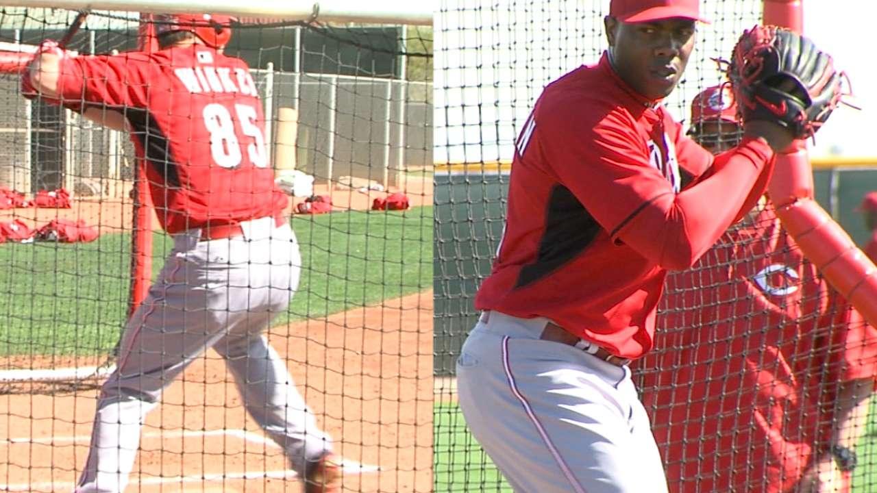 Winker faces Chapman in BP