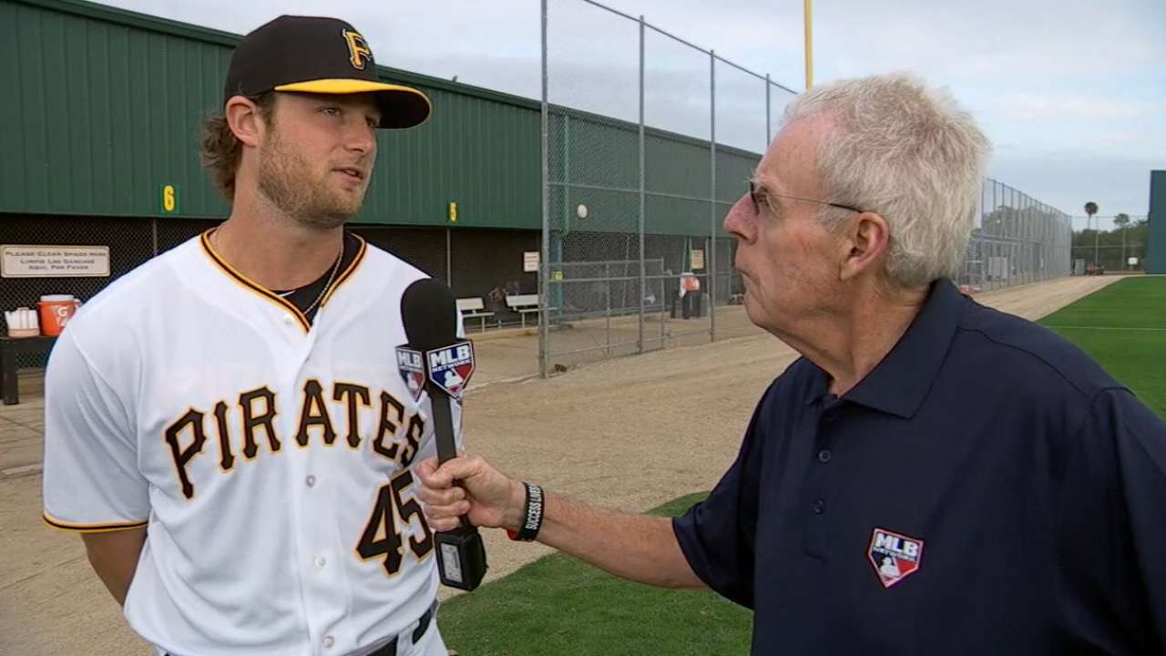 Cole locked in at Pirates camp