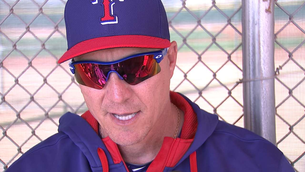 Banister: Rangers will continue to be aggressive on basepaths