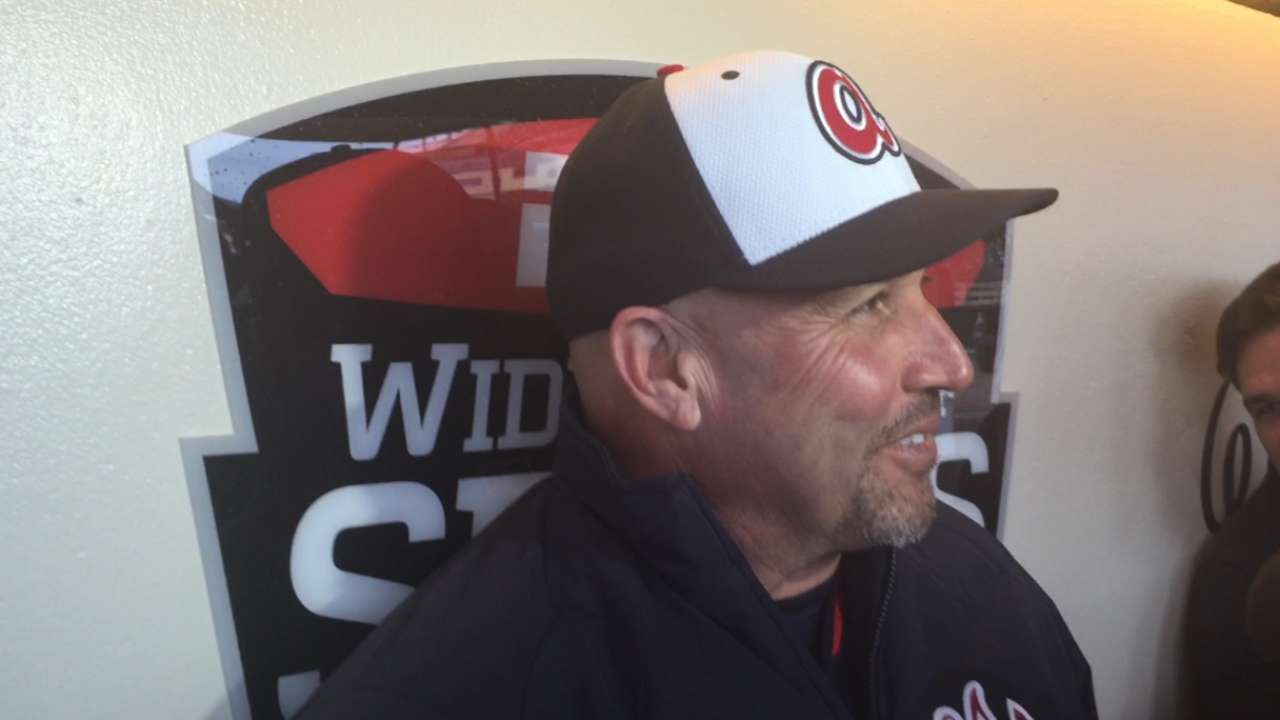 Fredi excited about Braves' improved farm system