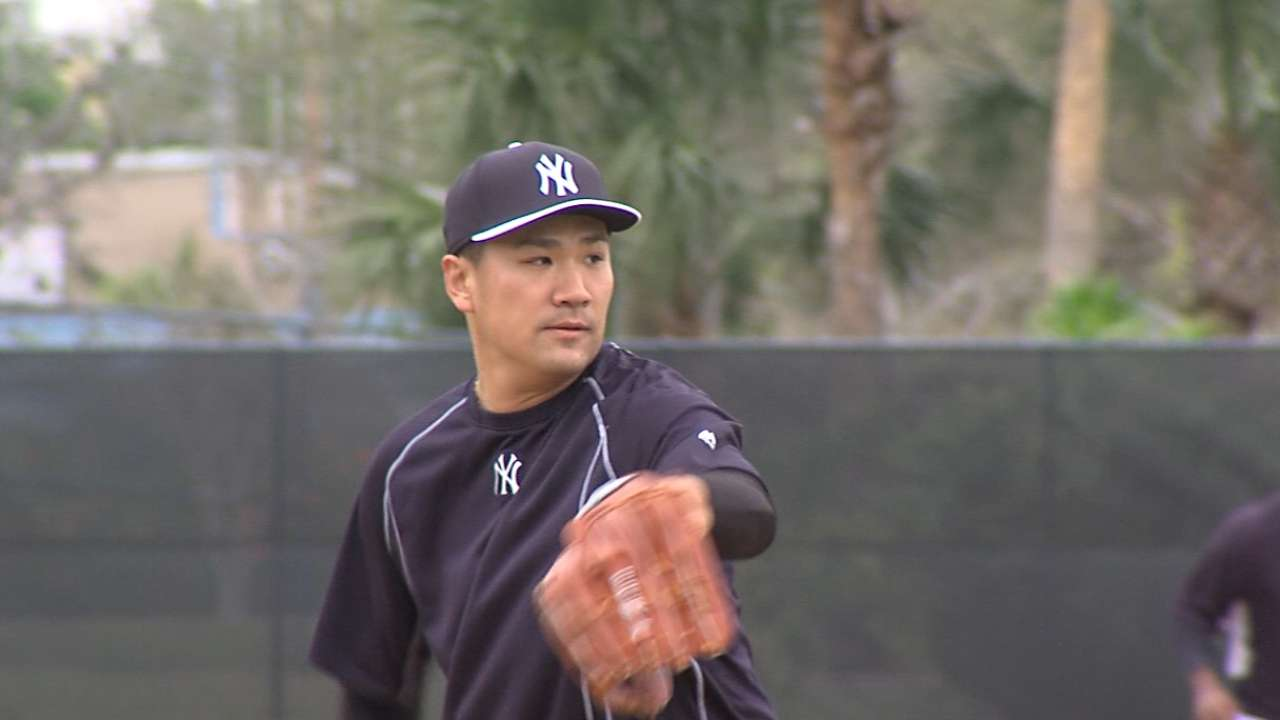 Tanaka feels ready to start after simulated game