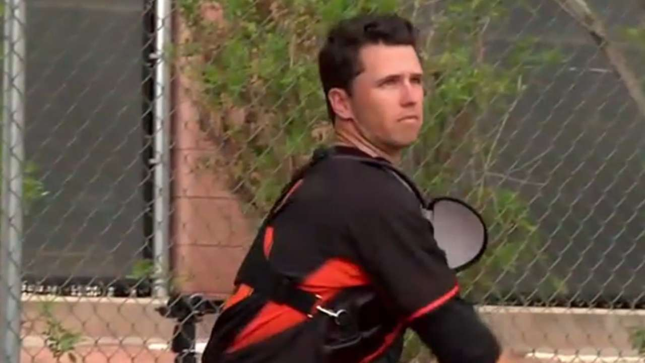 Posey joins Hot Stove