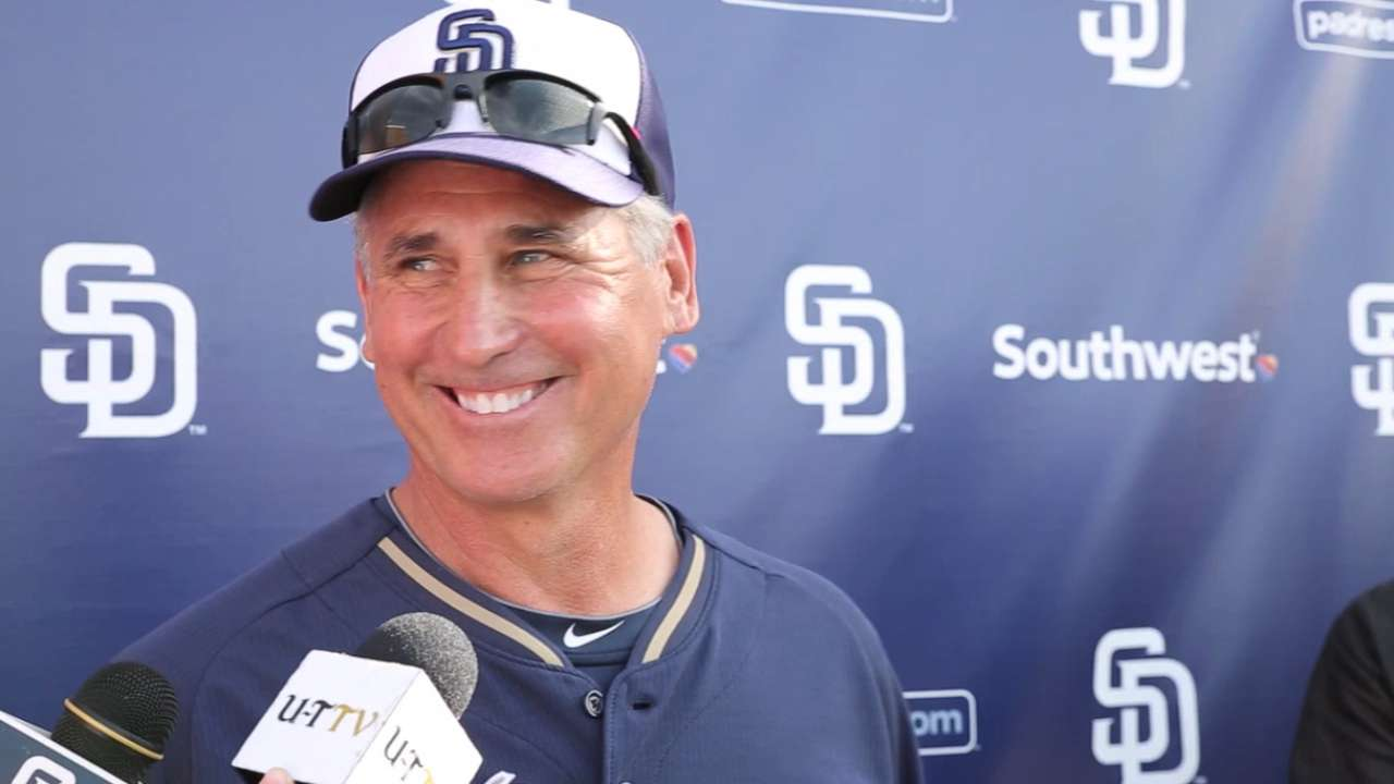 Padres work to maximize innings for surplus of arms