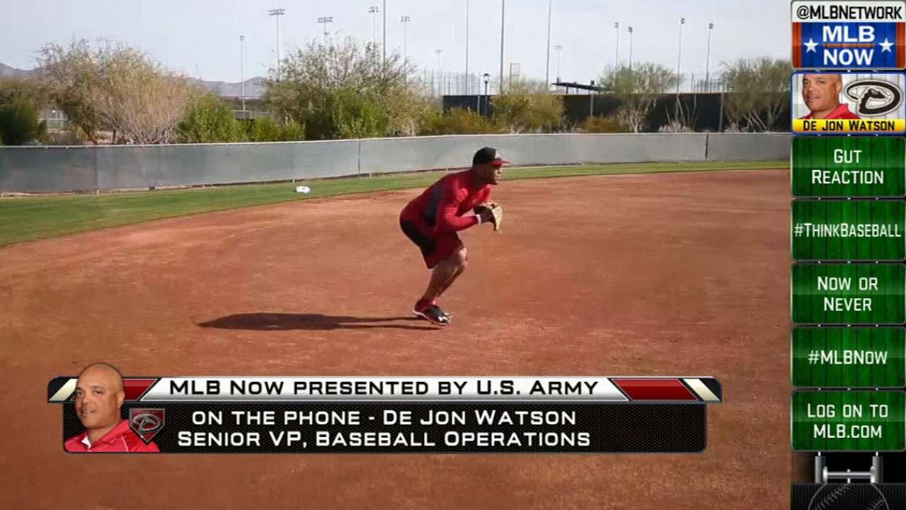 De Jon Watson on MLB Now