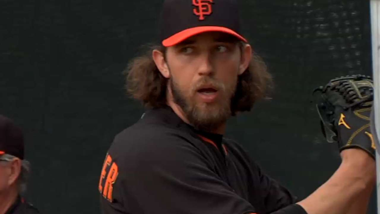 MadBum, Posey square off during workout