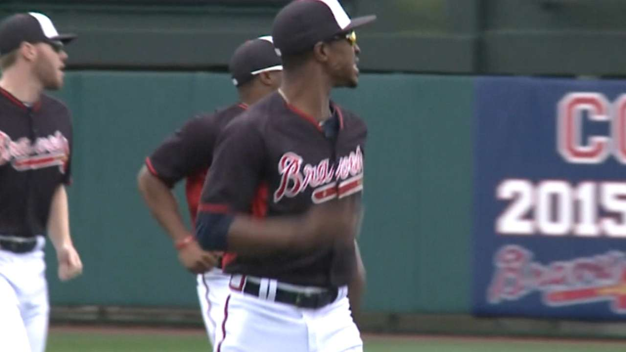 Upton to miss rest of spring with inflammation in left foot