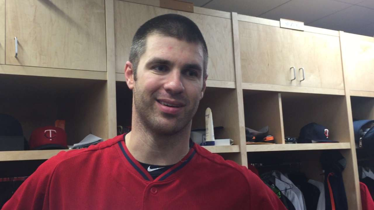 With concussion behind him, Mauer ready to bounce back