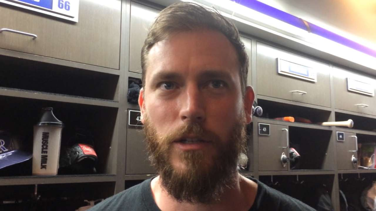 Axford on fitting in with Rox