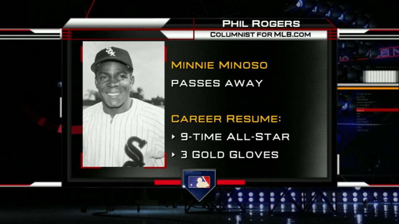 Rogers remembers Minnie Minoso