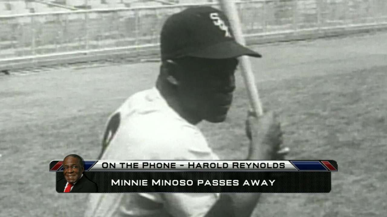 Reynolds on Minoso's impact