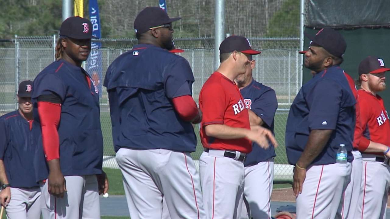 Browne on newest Red Sox at camp