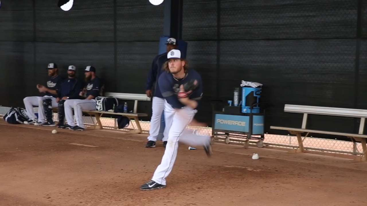 Clear head, big arm: Maurer flourishing as a reliever