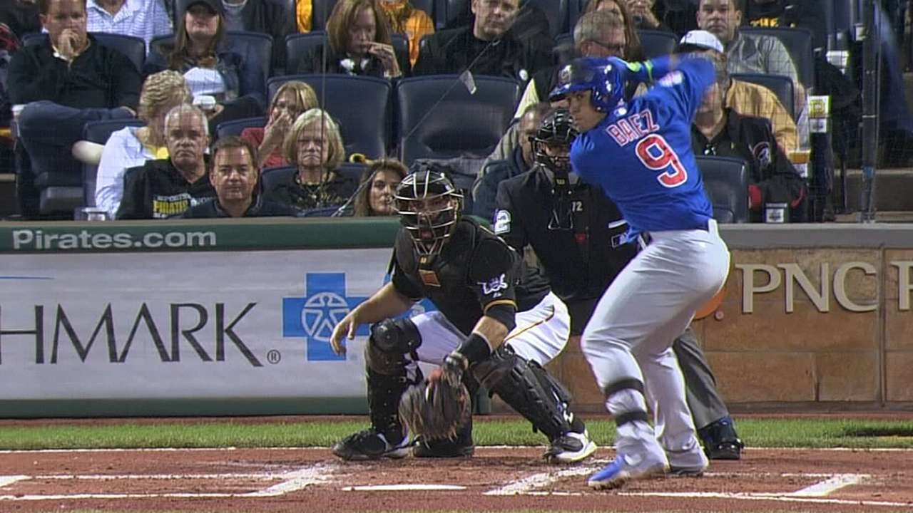 Baez pressing, but Maddon 'really not worried'