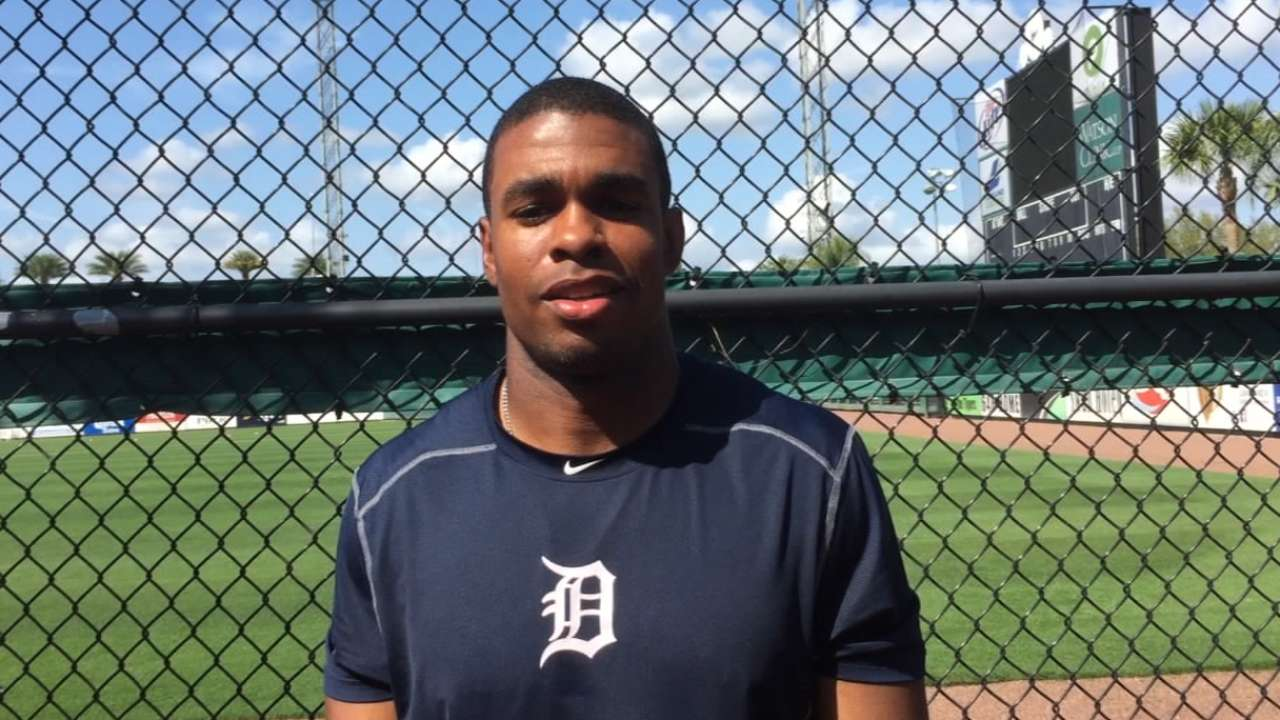 Bernard's faith in his work lands him on Tigers' 40-man roster
