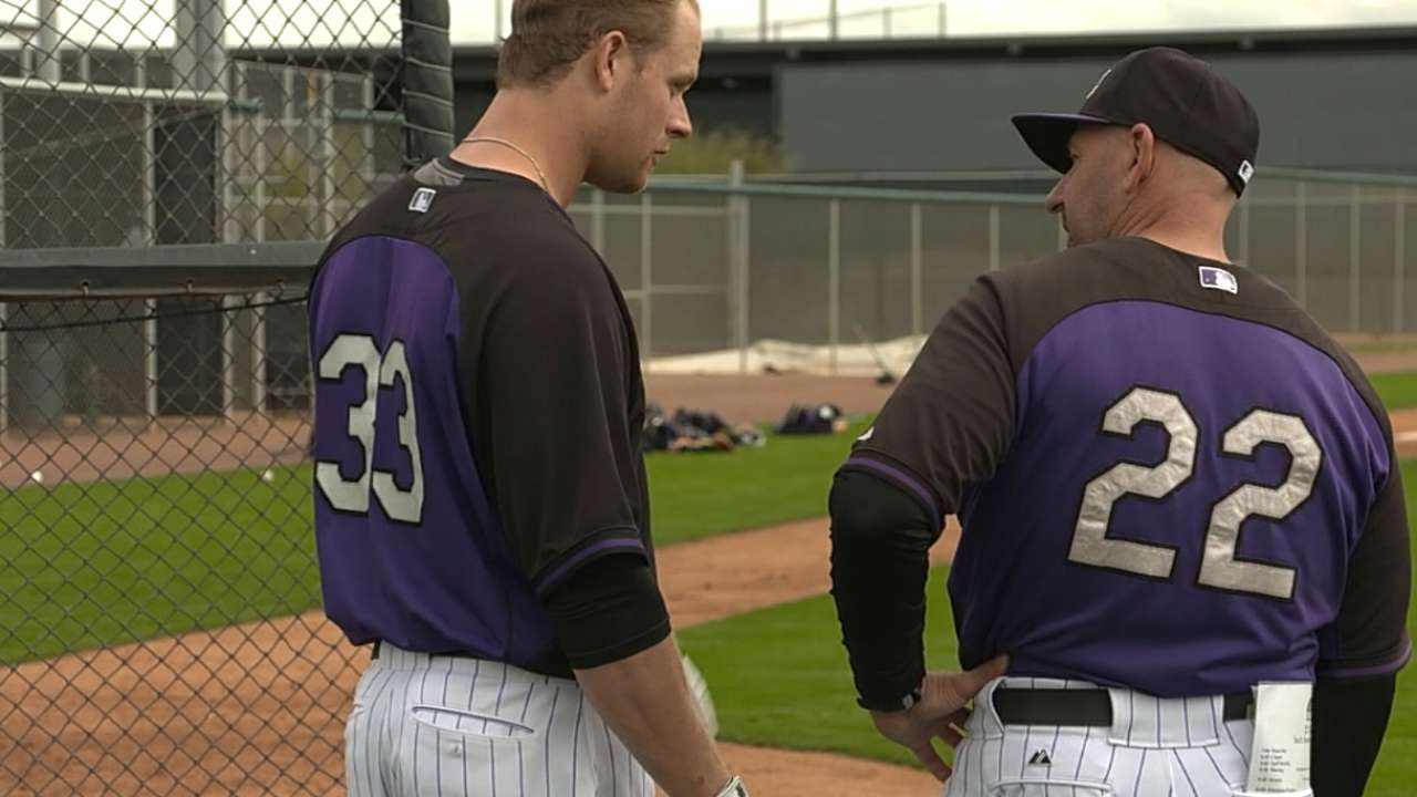 Weiss not too concerned over setting Rockies lineup