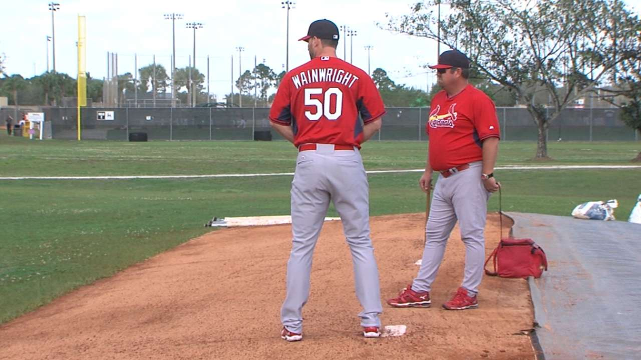 Wainwright pleased with progress