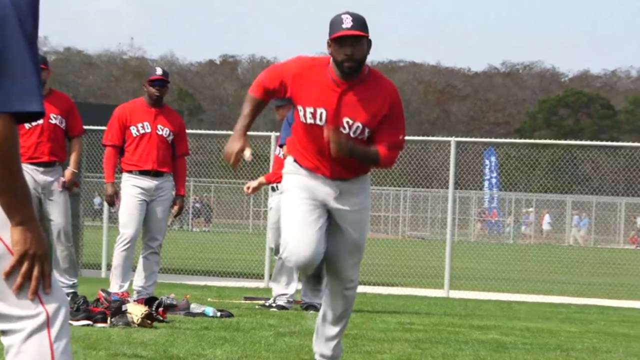 Farrell looking forward to first Grapefruit game