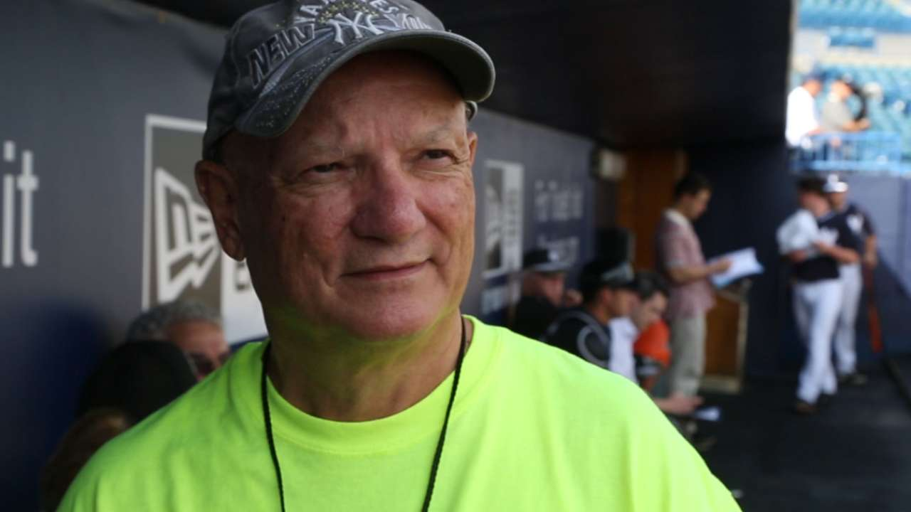 Yanks fan, 65, walking from Tampa to NY for charity