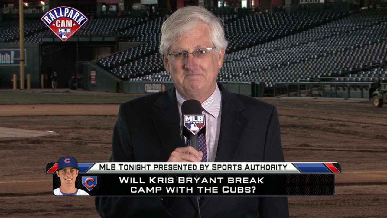 Rogers talks Cubs on MLB Tonight