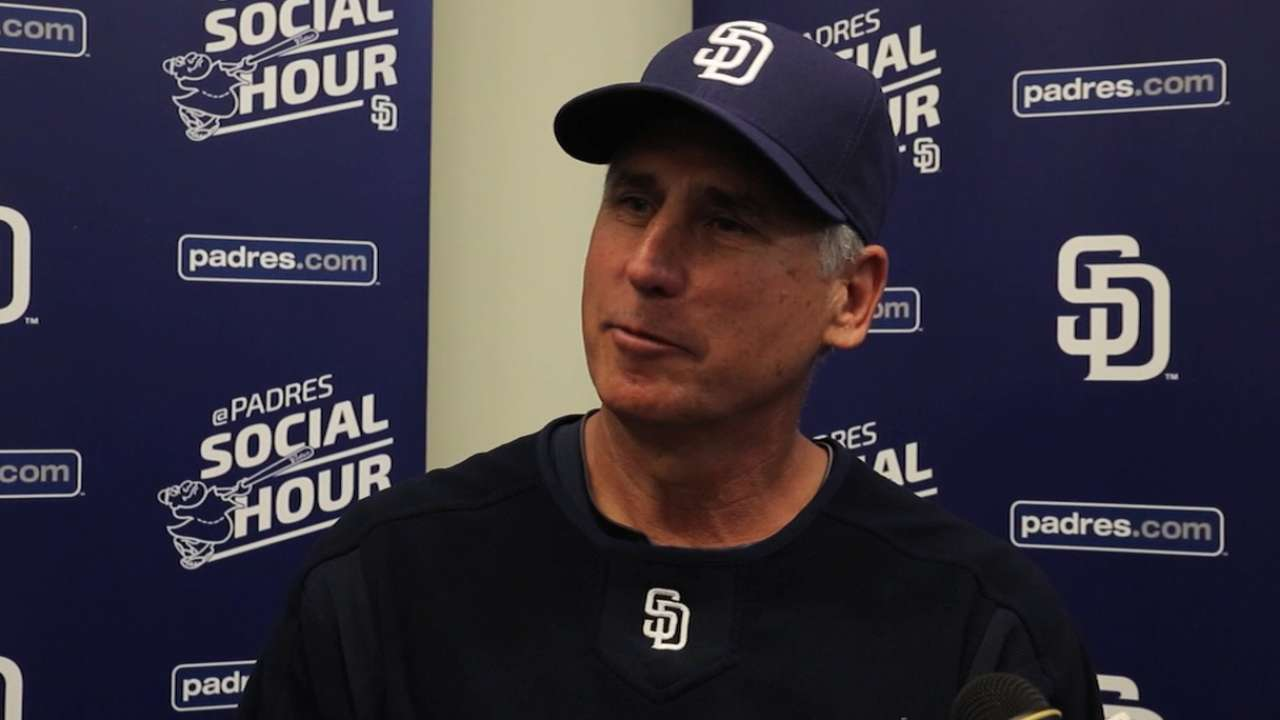 Morrow aims to claim final spot in Padres' rotation