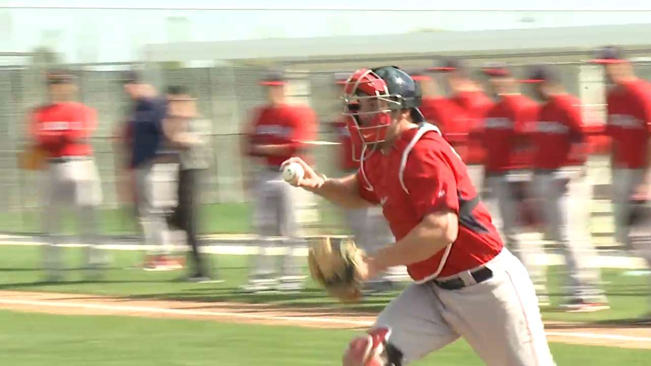 Owens shows big potential during first spring start