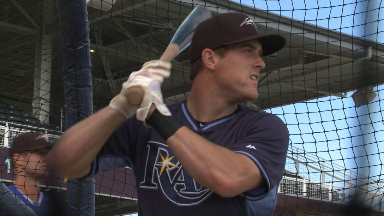 MLB Pipeline checks in from Rays camp