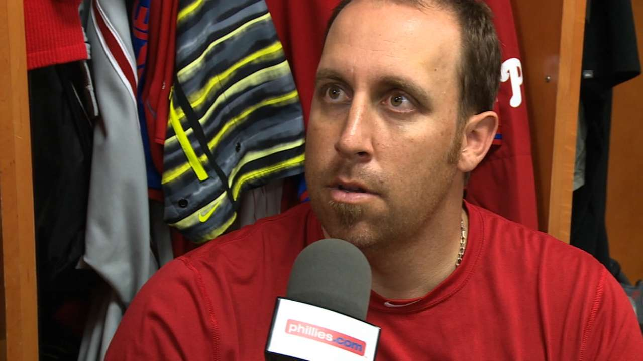 Harang staying healthy key for Phillies this year