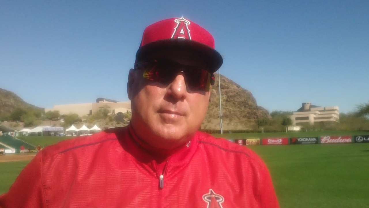 Scioscia on time between innings