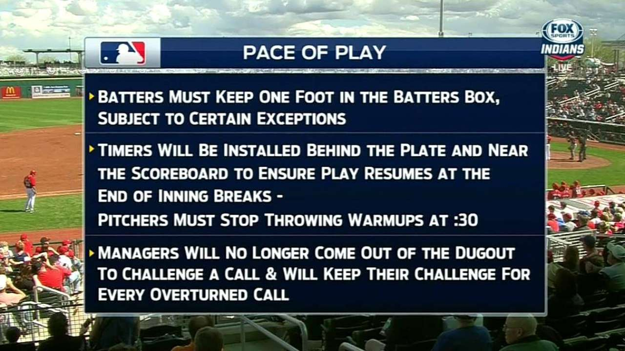 Indians TV on pace-of-play rules