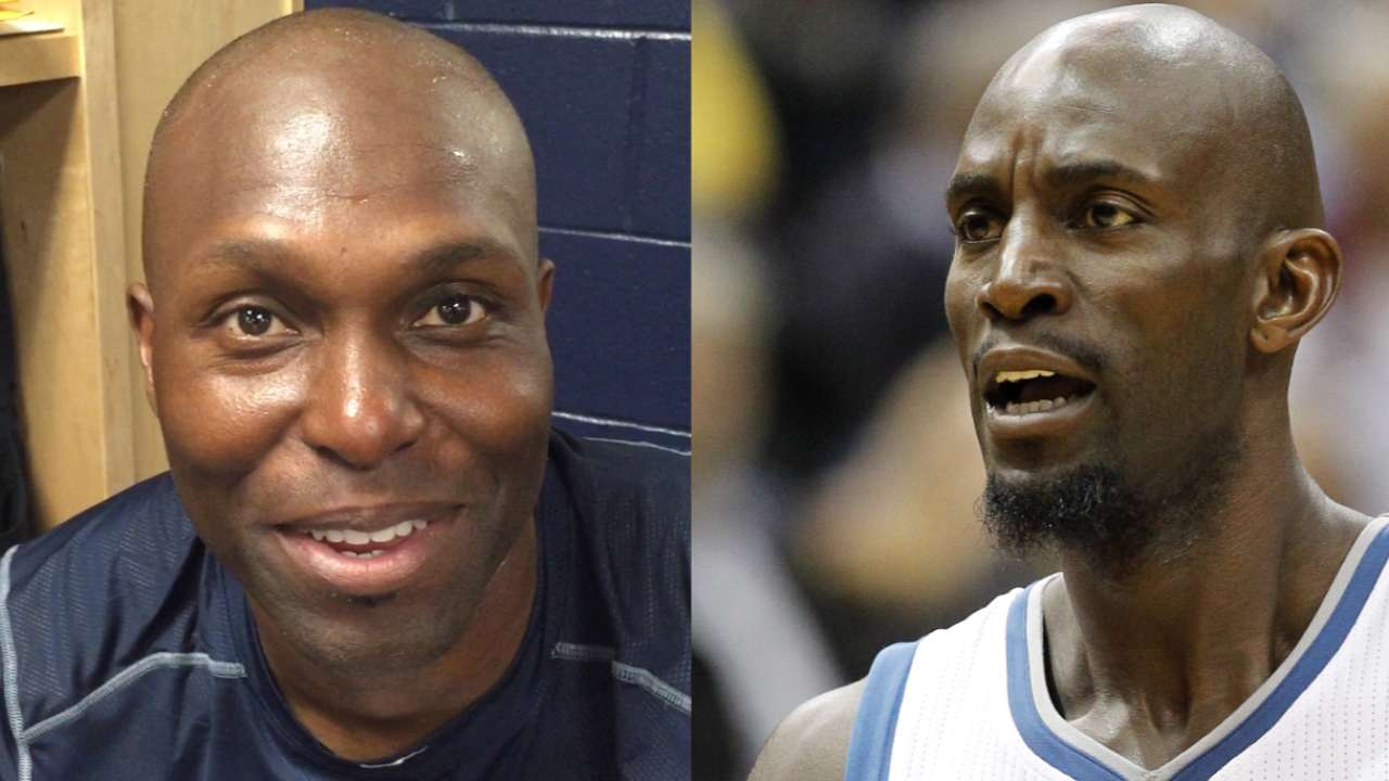 Garnett to throw first pitch at Twins' opener
