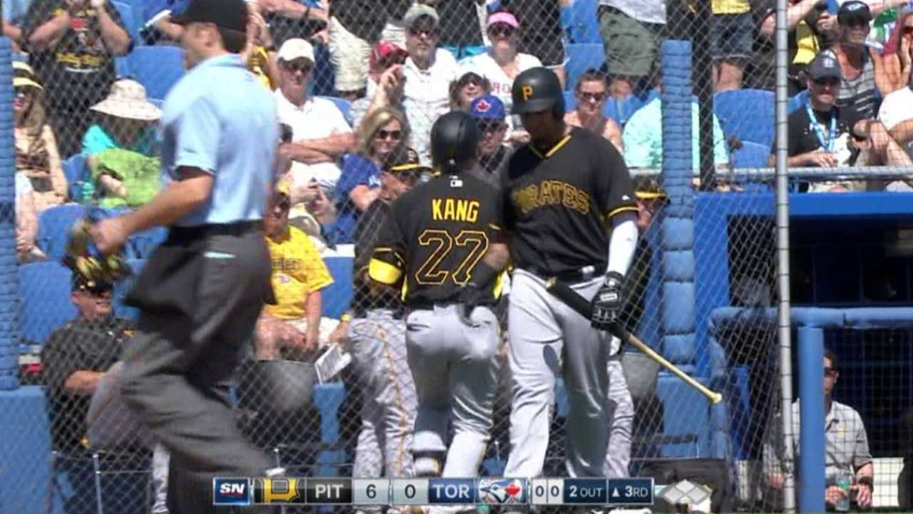 Kang still getting acclimated to life in the Majors