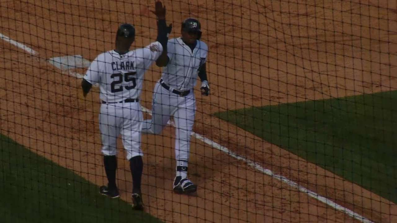 Cespedes starts Tigers tenure with grand slam