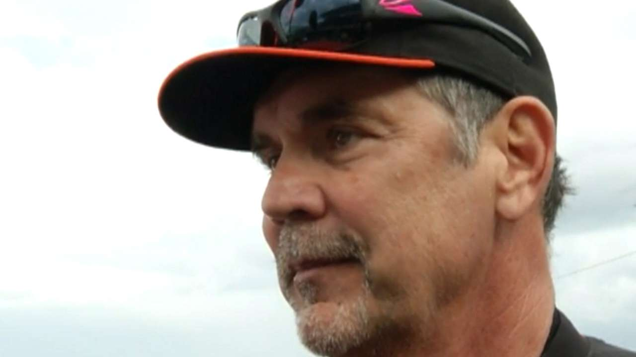 Bochy on first spring game