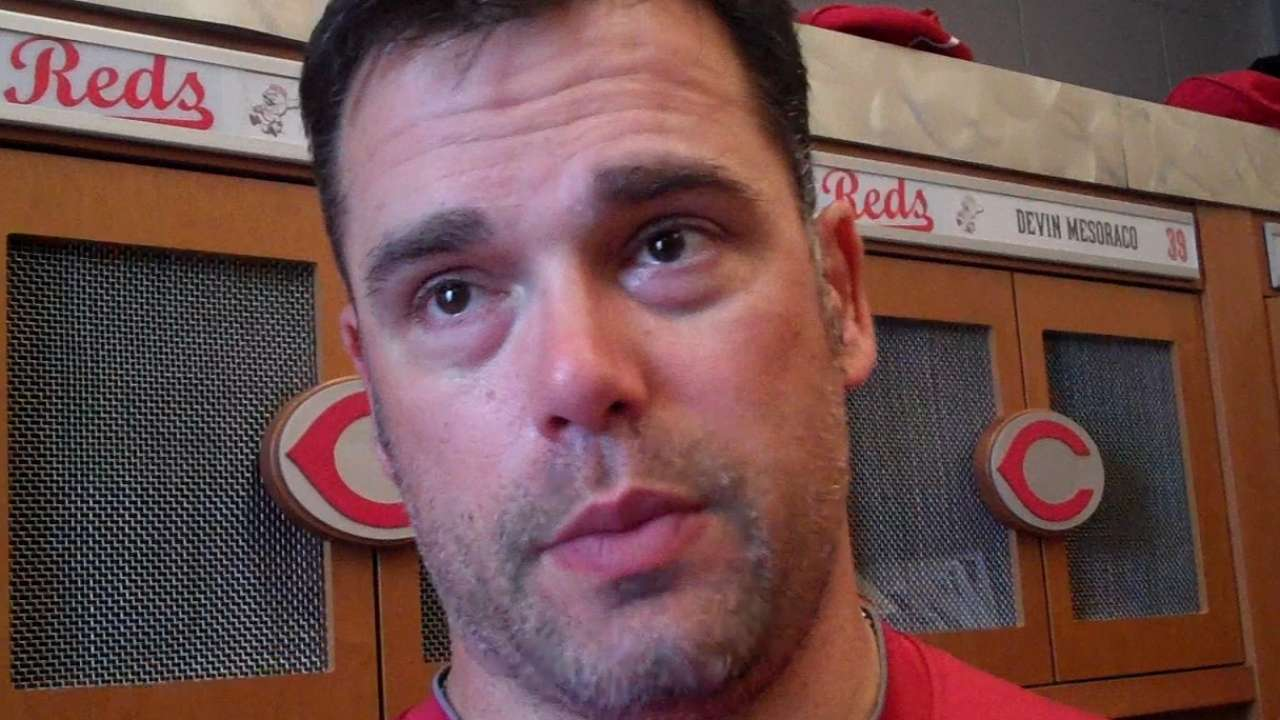 Gregg aims to nail down spot in Reds' 'pen after 'strange' 2014