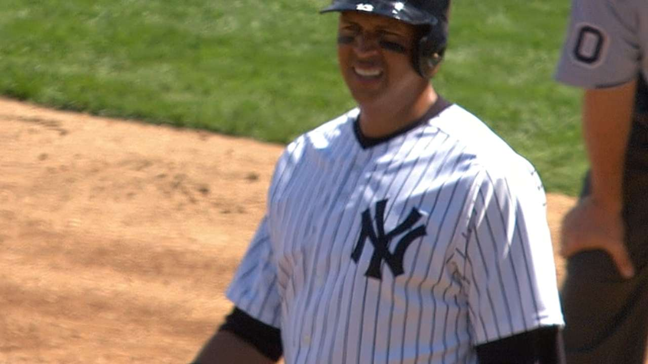 After 17-month absence, A-Rod returns to lineup